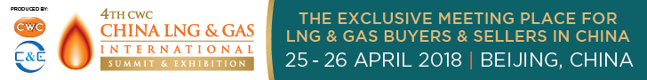 4th CWC China LNG & Gas International Summit & Exhibition - 4-26-2018